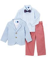 Good Lad Light Blue Seersucker Suit Set - Toddler & Boys
