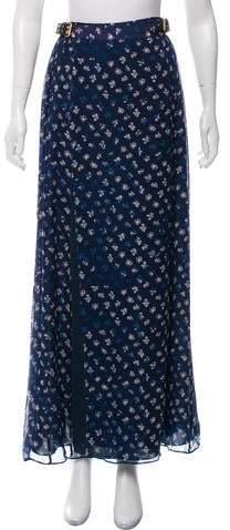 Diane von Furstenberg Silk Midi Skirt