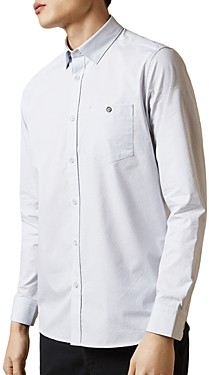 Ted Baker Slim-Fit Diamond Dobby Shirt