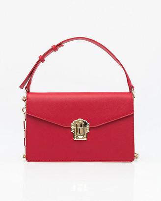 Le Château Saffiano Faux Leather Bag