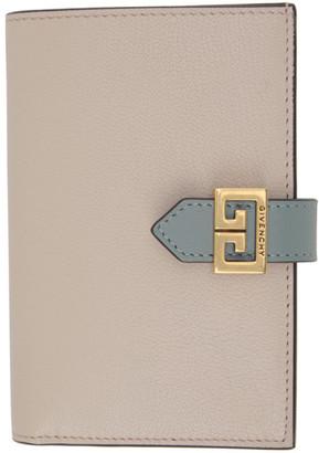 Givenchy Grey and Pink GV3 Wallet