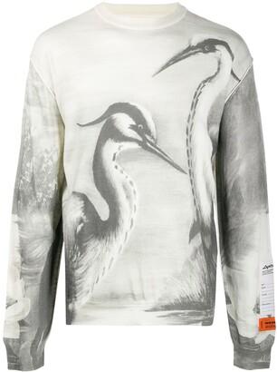 Heron Preston Heron print jumper