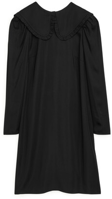 Arket Frill Collar Dress