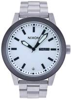 Nixon Men's A263-100 Stainless Steel Analog Silver Dial Watch