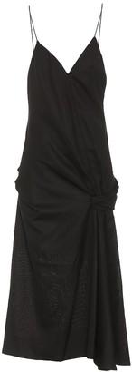 Jacquemus La Robe Samba wool dress