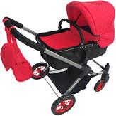 Red Bassinet Stroller for 20'' Doll