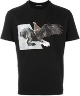 Neil Barrett bird print T-shirt