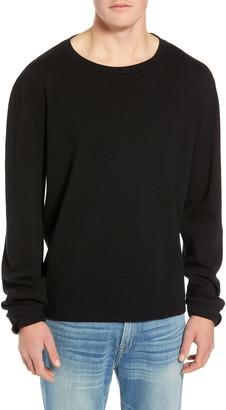 Frame Slim Fit Long Sleeve Crewneck T-Shirt
