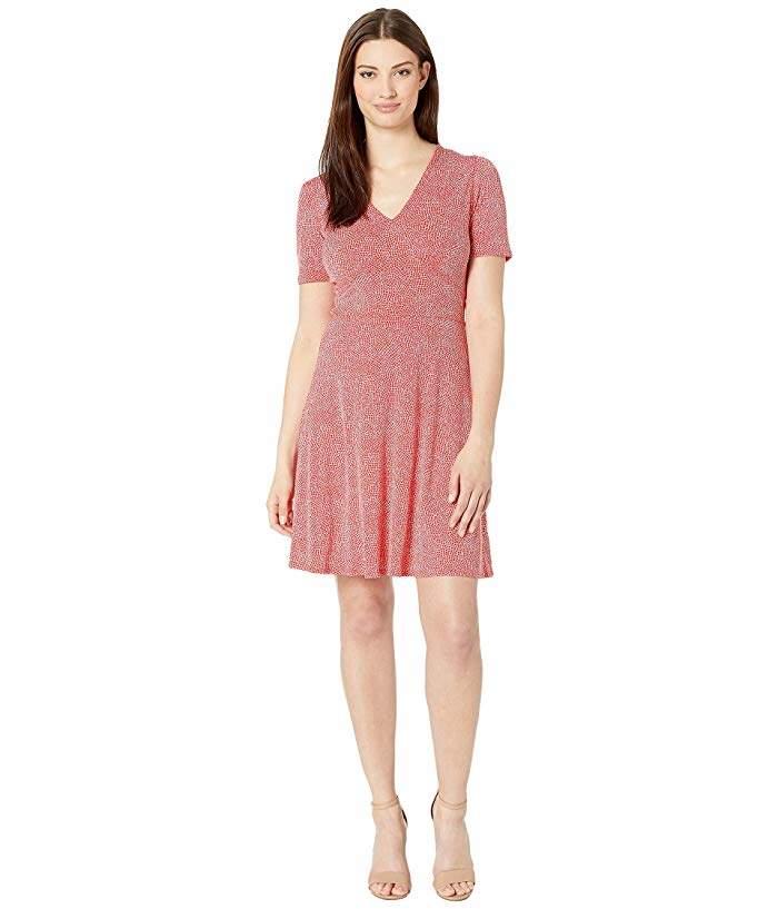32b31dcd6 MICHAEL Michael Kors Red Stretch Dresses - ShopStyle