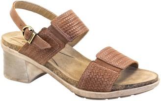 Dromedaris Adjustable Leather Strap Sandals - Selena