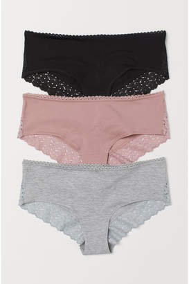 H&M 3-pack hipster briefs