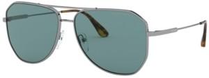 Prada Men's Polarized Sunglasses, 0PR 63XS