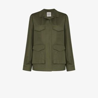 Totême Avignon military jacket