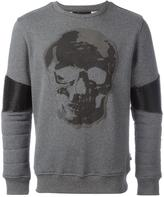 Philipp Plein United sweatshirt - men - Cotton/Polyester/Polyurethane/Spandex/Elastane - XL