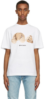 Palm Angels White Bear T-Shirt