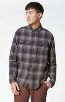 KR3W Ambush Plaid Flannel Long Sleeve Button Up Shirt