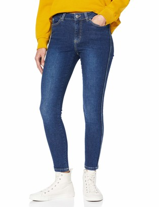 Only Women's ONYANNE K MID SK Ankle Piping Jeans DO Skinny