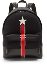 Givenchy Star and stripe neoprene backpack