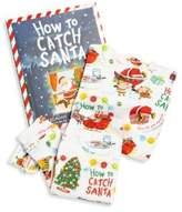 Toddler's & Little Boy's Two-Piece Santa Graphic Pajamas & Book Set