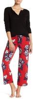 PJ Salvage American Beauty Floral Pajama Pants