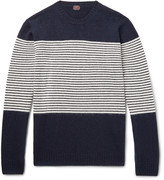 Mp Massimo Piombo - Striped Wool Sweater