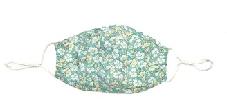 Merritt Charles Magnolia Floral Face Mask Blue Floral Protective Inserts & Layers