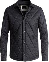 Quiksilver Men's Reesor Quilted Jacket with Corduroy Collar