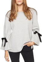 Sanctuary Tierney Bow-Sleeve Sweatshirt