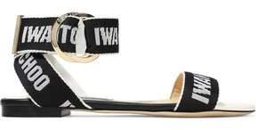 Jimmy Choo Breanne Logo-jacquard Sandals