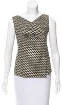 Piazza Sempione Printed Sleeveless Top