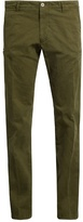 J.w.brine J.W. BRINE Drake slim-leg stretch-cotton chino trousers