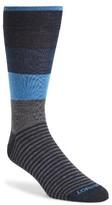 Lorenzo Uomo Men's Colorblock Socks