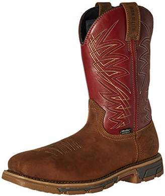 Irish Setter Work Men's 83916 Marshall 11 Inch Pull-on Steel Toe Boot