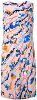 Emilio Pucci floral print shift dress - women - Silk/Viscose - 38
