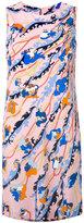 Emilio Pucci floral print shift dress - women - Silk/Viscose - 42