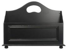 Design Styles DesignStyles 2 Compartment Wooden Magazine Rack