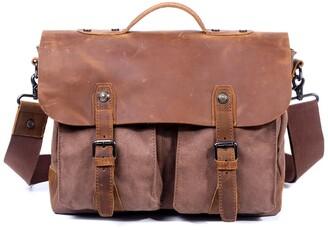 Tsd Hudson Canvas Messenger Bag