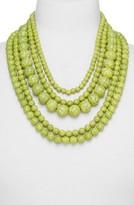 BaubleBar Women's 'Globe' Multistrand Beaded Necklace