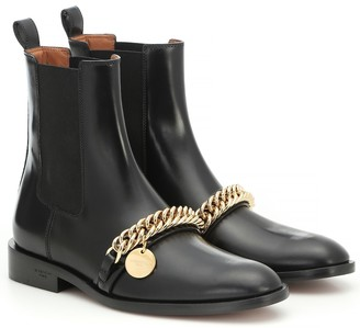 Givenchy Embellished leather ankle boots