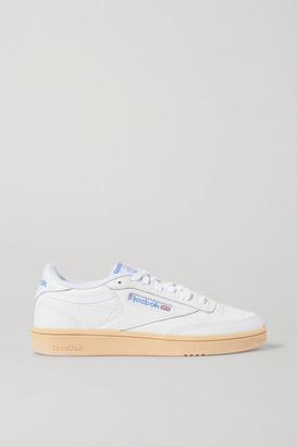 Reebok Club C 85 Leather Sneakers - White