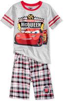 Nannette 2-Pc. Lightning McQueen--Print T-Shirt, Toddler & Little Boys (2T-7)