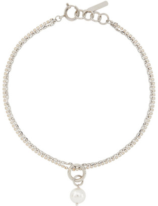Justine Clenquet Silver Laura Choker