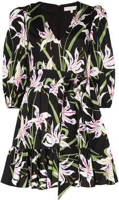 Borgo de Nor Anita floral-print mini dress