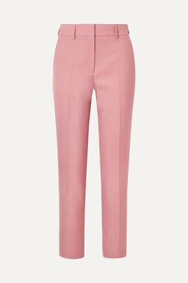 Burberry - Twill Straight-leg Pants - Pink