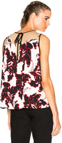 MSGM Printed Sleeveless Top