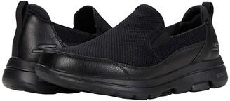SKECHERS Performance Go Walk 5 - Authorize (Black) Men's Shoes