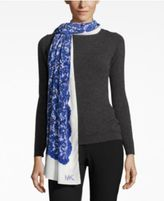 MICHAEL Michael Kors Printed Lace Oblong Wrap & Scarf in One