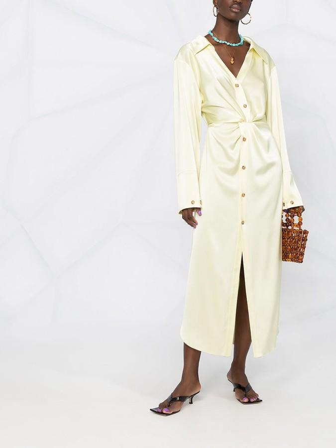 Thumbnail for your product : Nanushka Ayse long-sleeved shirt dress