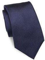 Isaia Textured Silk Tie