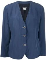 Giorgio Armani Pre Owned 1990s single-breasted jacket